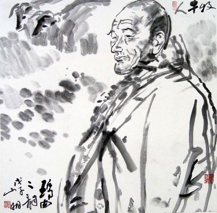 岭南 吴山明/吴山明